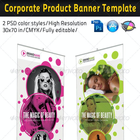 Fashion And Spa Banner Template 02