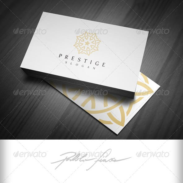 Ornate Symbol Logo - Interlocking Circles Logo