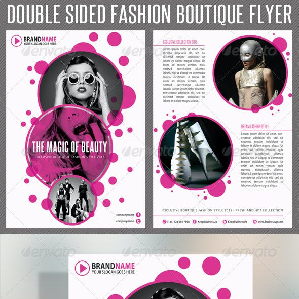 Fashion Product Flyer 02