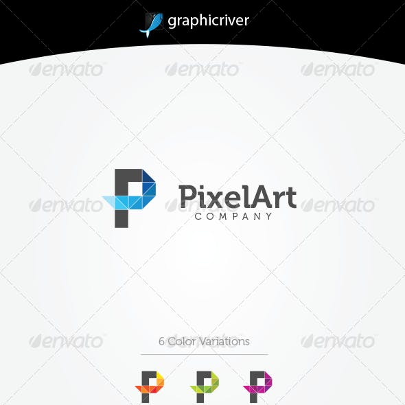 PixelArt Logo