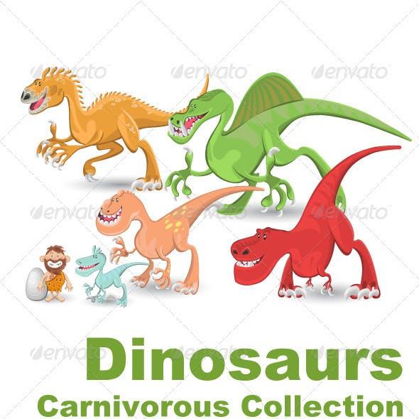 Carnivorous Dinosaurs Collection Set