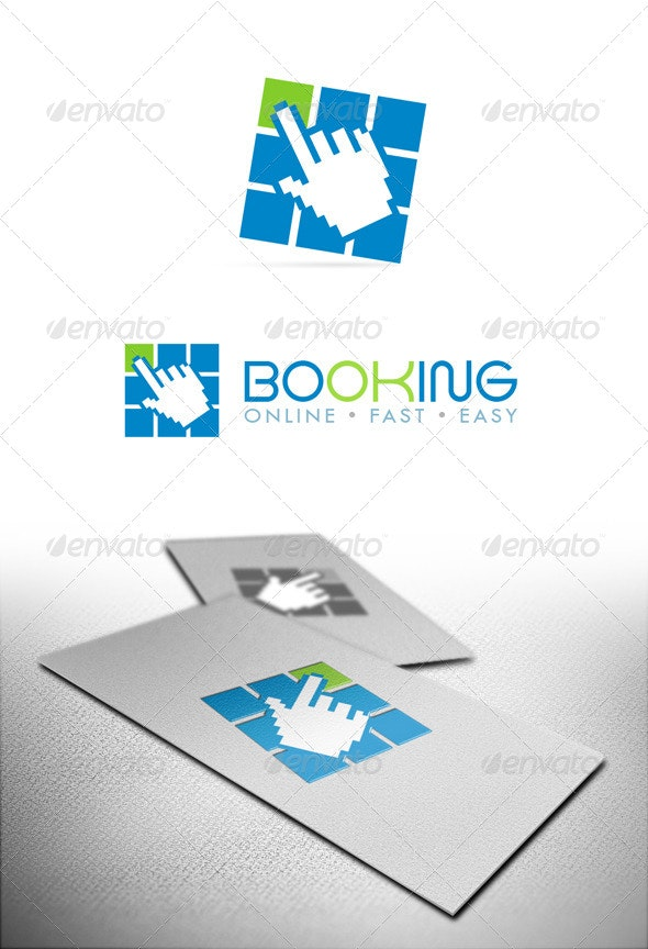 Booking - Objects Logo Templates