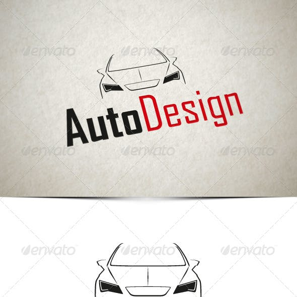 Auto Design Logo Template