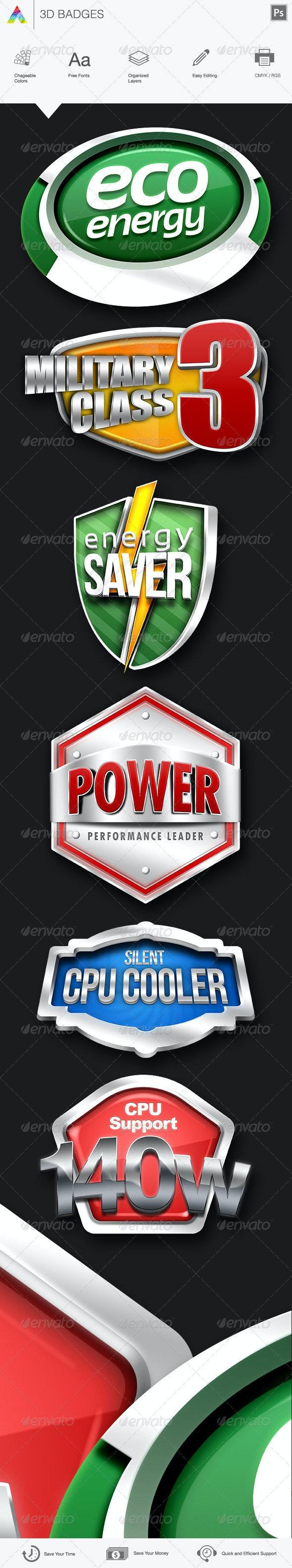 Badges - Badges & Stickers Web Elements