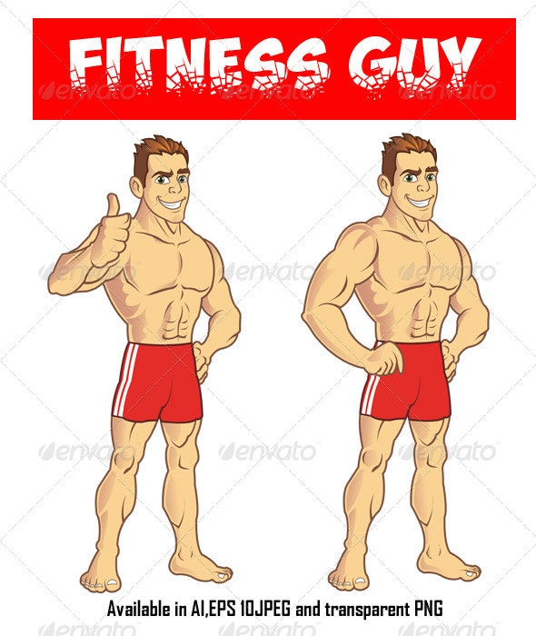 Fitness Guy - People Characters
