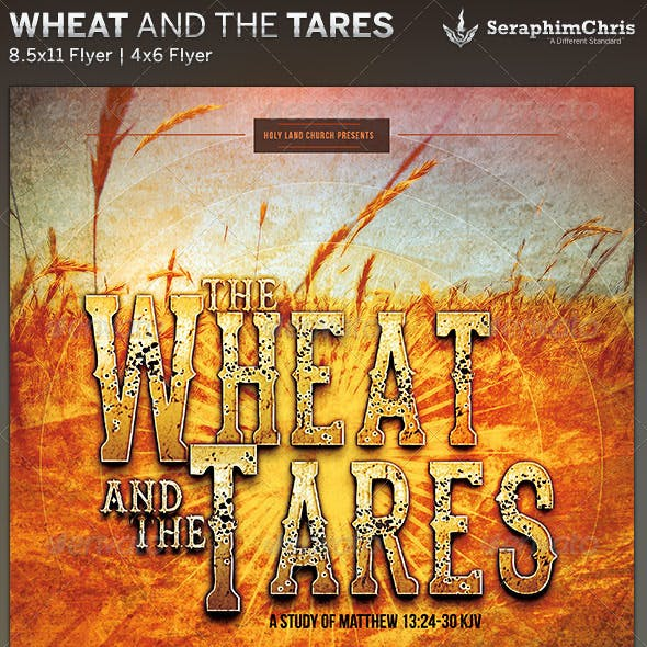 Wheat and the Tares: Church Flyer Template