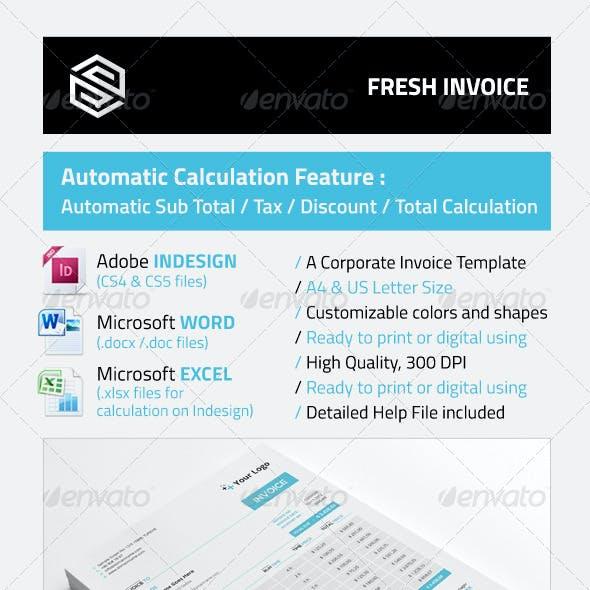 Fresh Invoice
