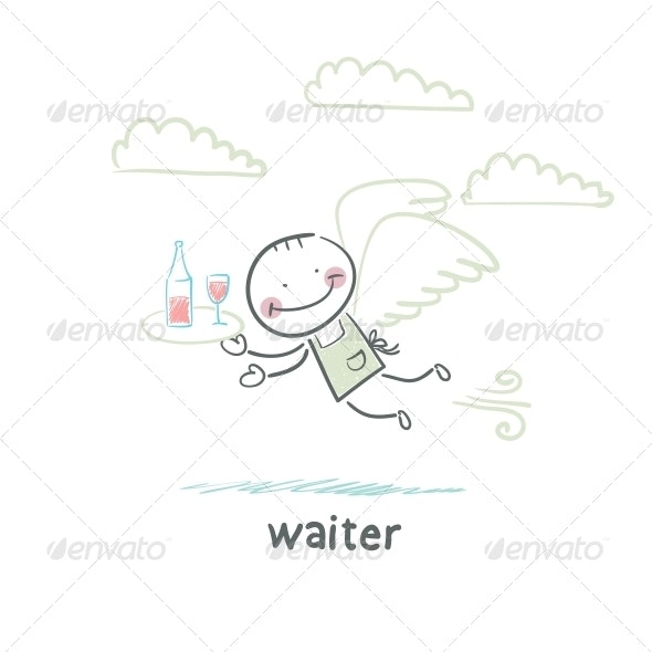 Waiter - People Characters
