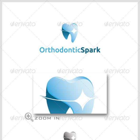 Orthodontics Spark Logo Template