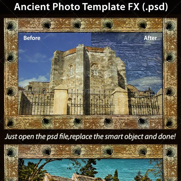 Ancient Photo Template FX