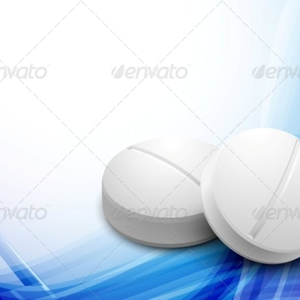 Background with Pills
