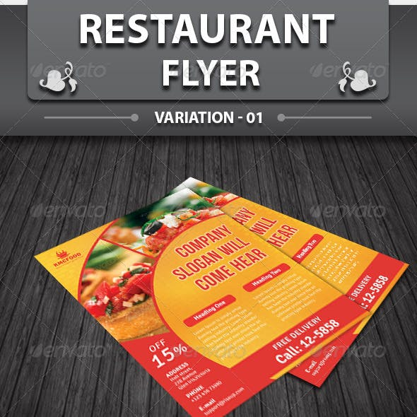 Restaurant Business Flyer | Volume 12