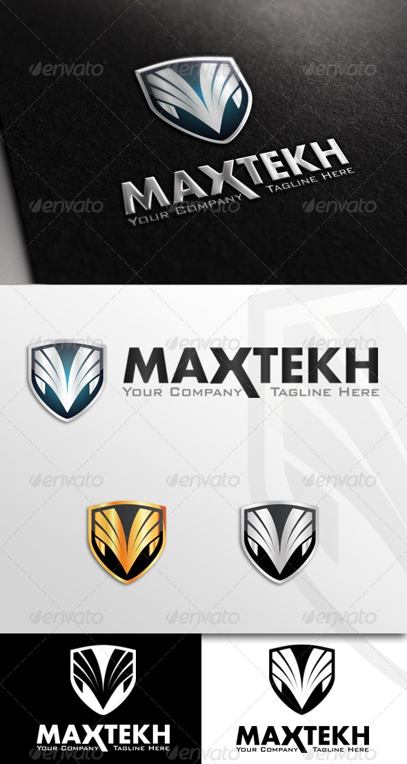 M Letter - Strong Logo - Crests Logo Templates