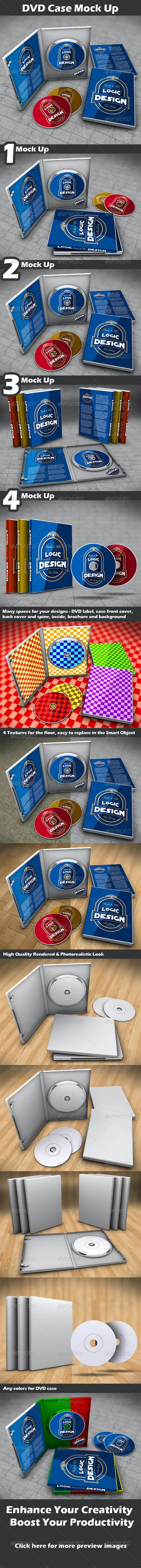 DVD Case Mock Up - Discs Packaging