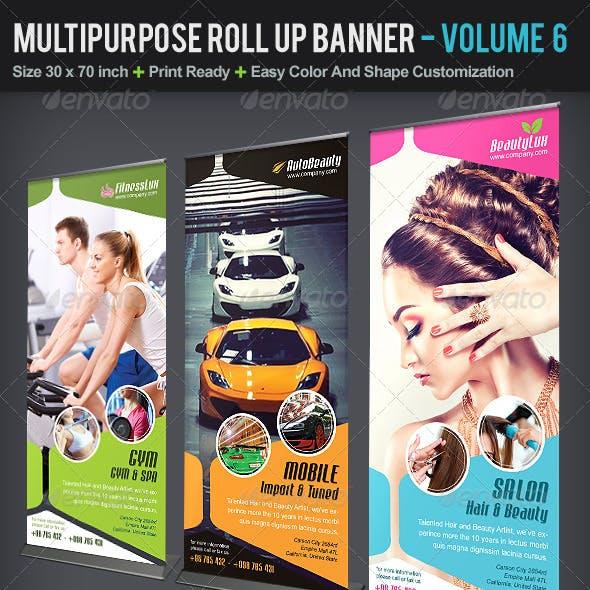 Multipurpose Roll Up Banner | Volume 6