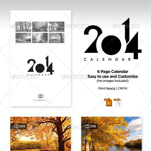 Wall Calendar 2014 Vol 1