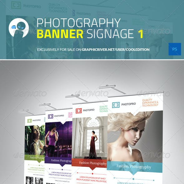 Photography Banner Signage 1