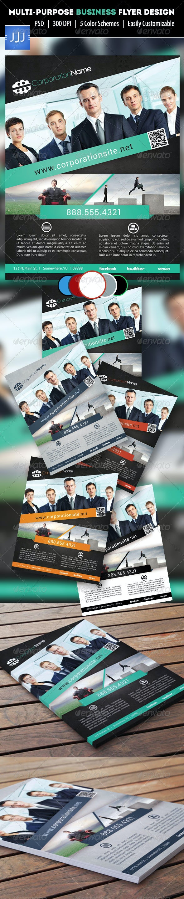 Multipurpose Business Flyer 13 - Corporate Flyers