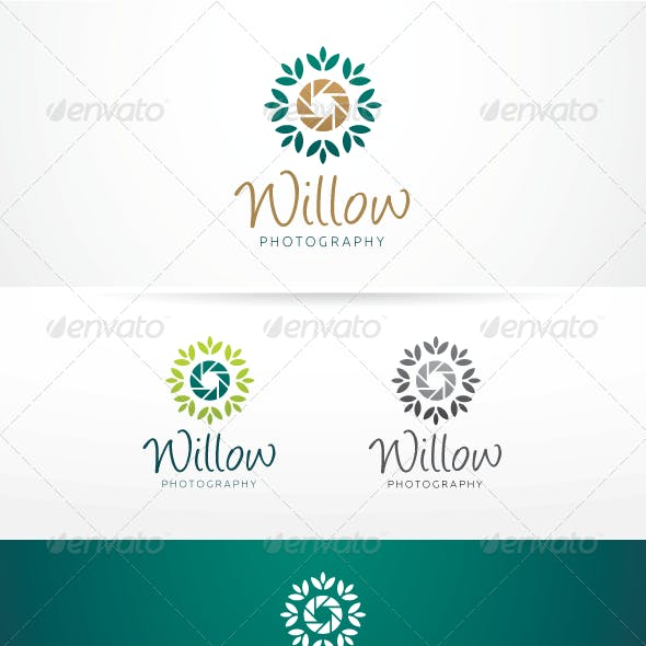 Willow Photography - Logo Template