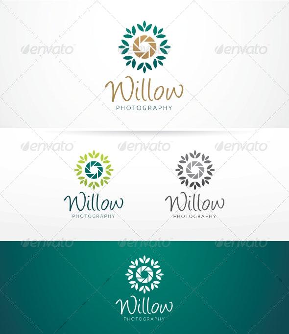Willow Photography - Logo Template - Nature Logo Templates