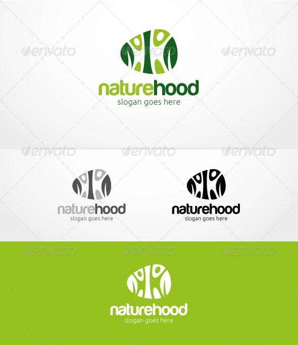 Naturehood - Logo Template - Nature Logo Templates