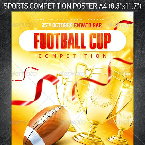 Sports Competition Poster