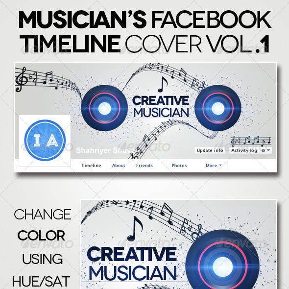 Musician's Fb Timeline Cover V1