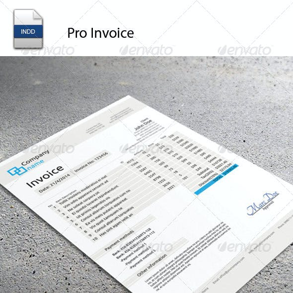 Pro Invoice