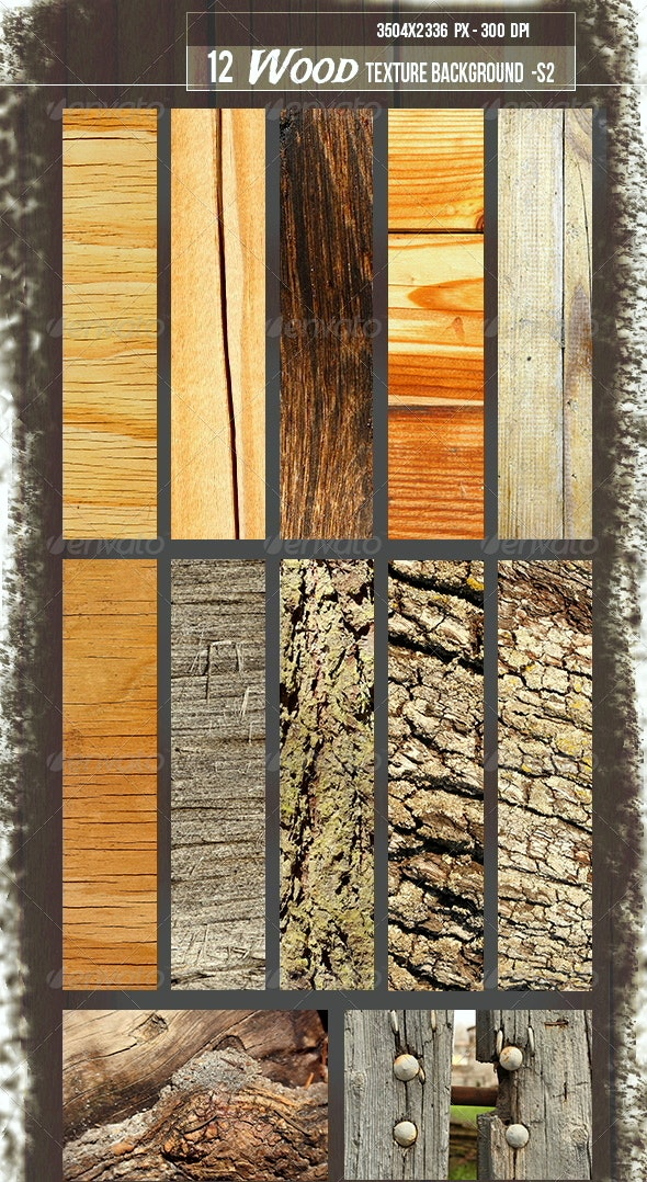 12 Wood Texture Background S2-1 - Wood Textures