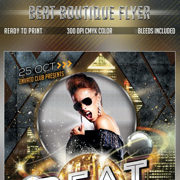 Beat Boutique Flyer