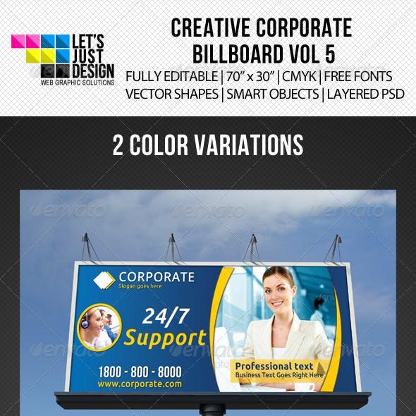 Corporate Billboard Banner Vol 5