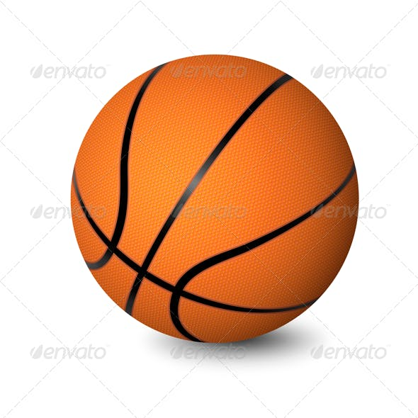 Basketball Photoshop Vector