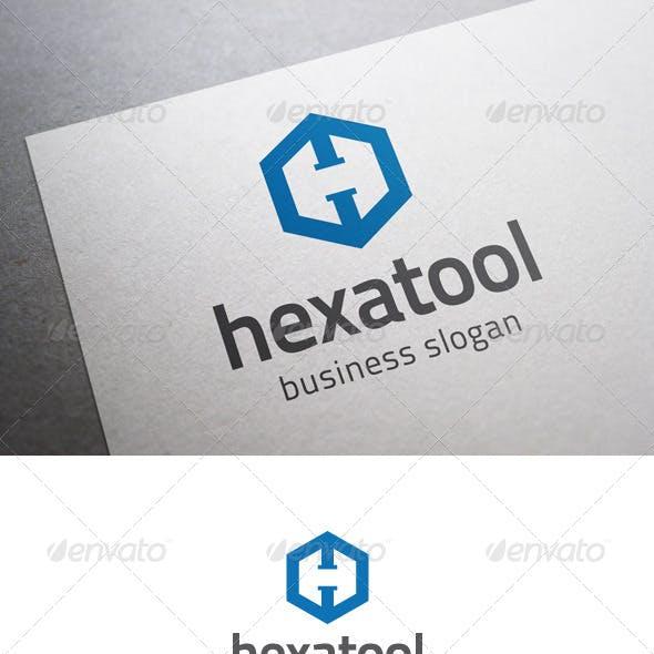 Hexatool H Letter Logo