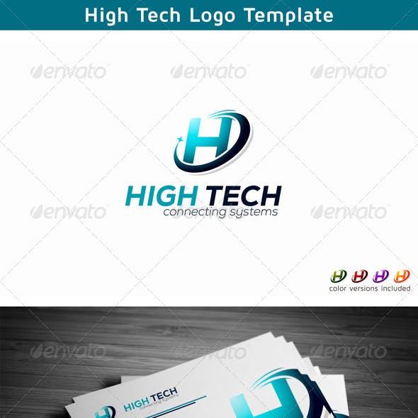 Letter H - Technology Logo