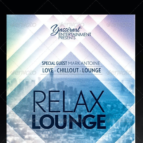 Relax Lounge Flyer Template