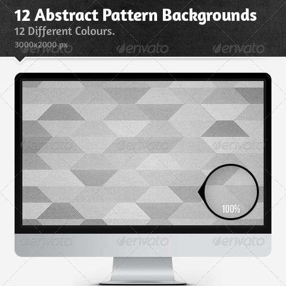 12 Abstract Pattern Backgrounds