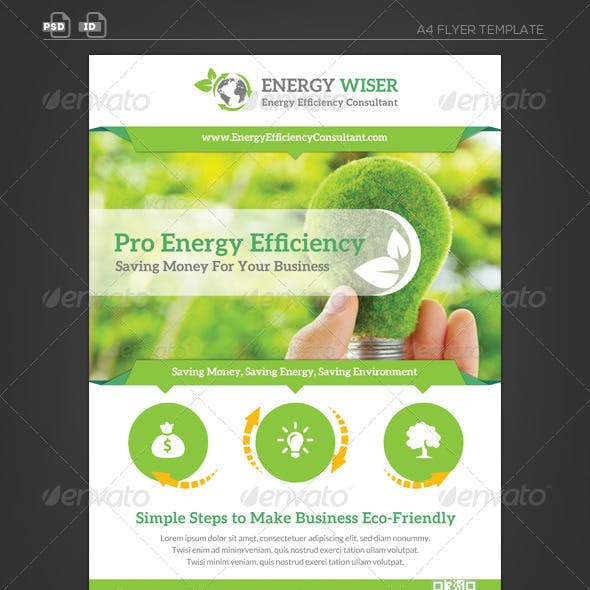 Energy Efficiency Business Flyer
