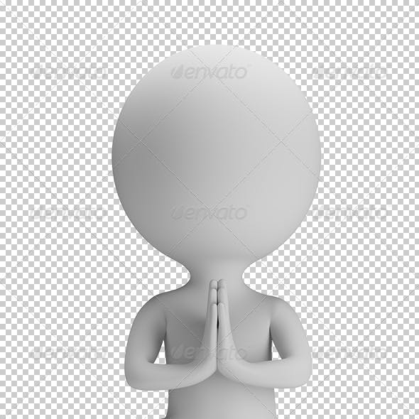 3D Small People - Yoga