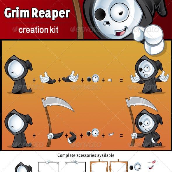 Grim Reaper - Mascot Creation Kit