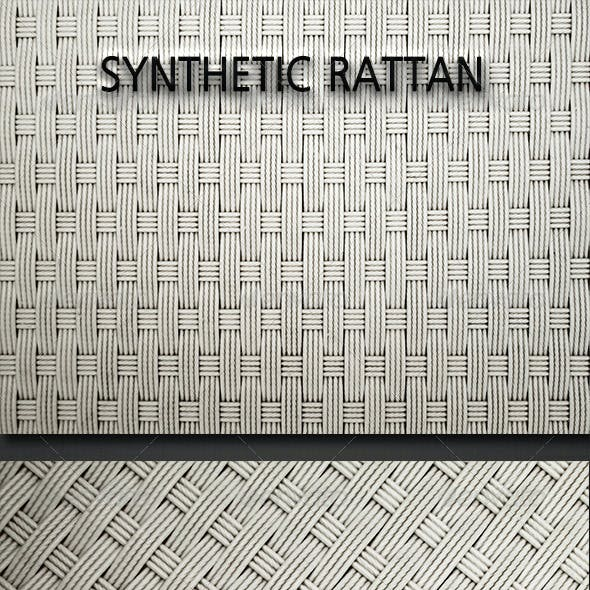Synthetic Rattan Textures