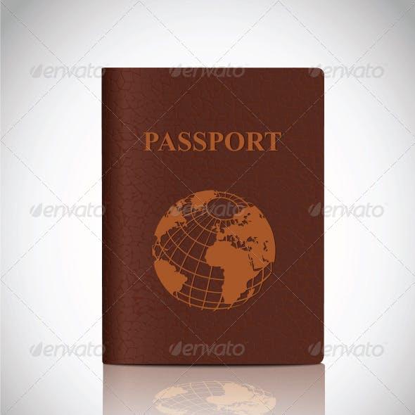 Passport and Suitcase Set