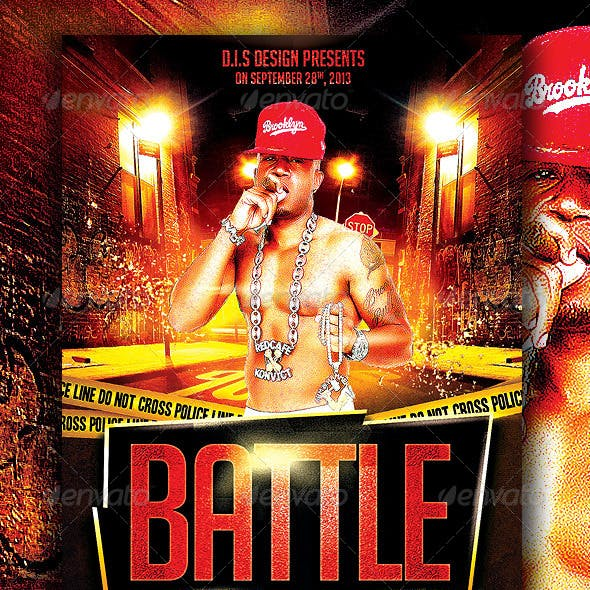 Rap Battle Flyer