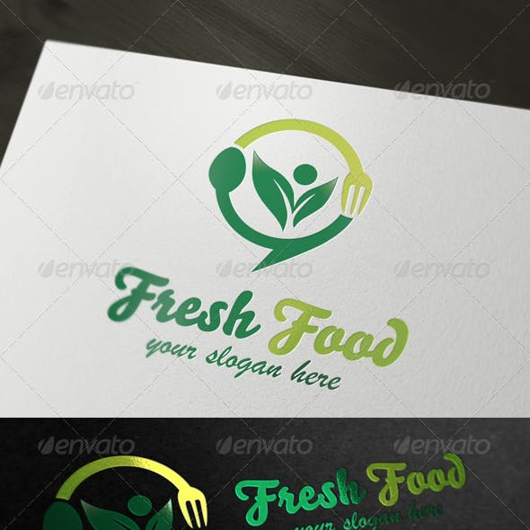 Fresh Food - Restaurant & Food Logo