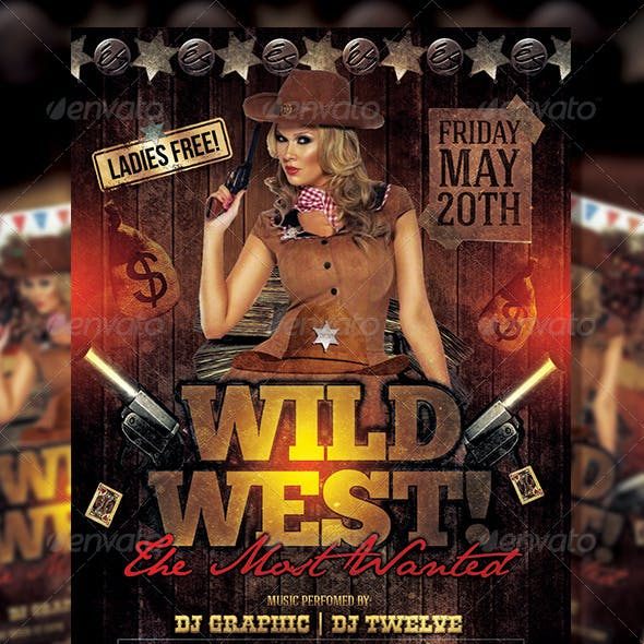 Wild West 2 | Flyer Template
