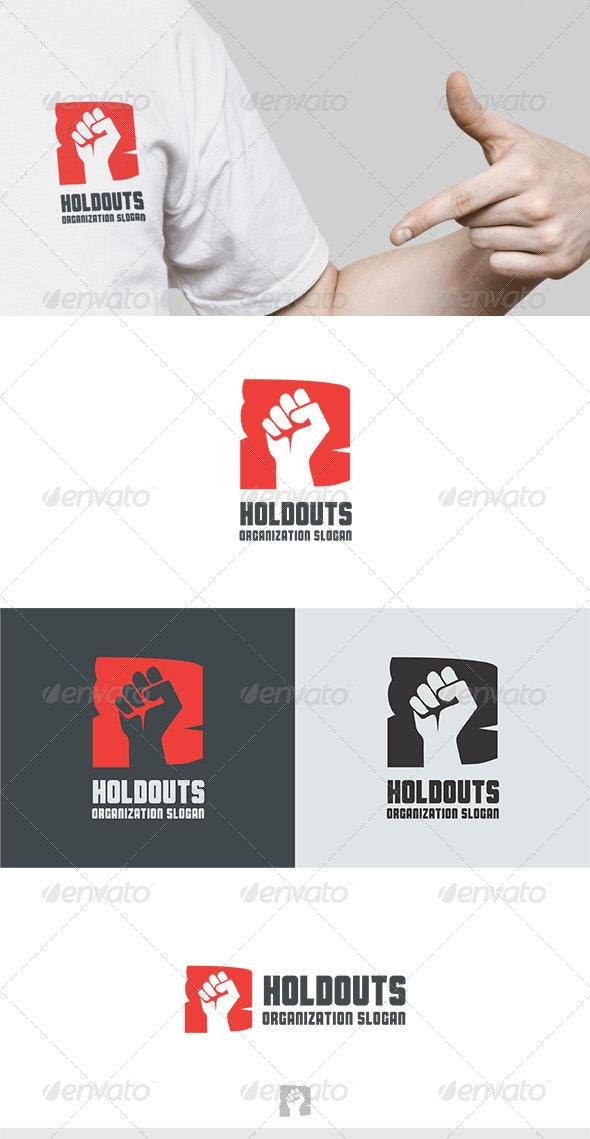 Holdouts Logo - Symbols Logo Templates