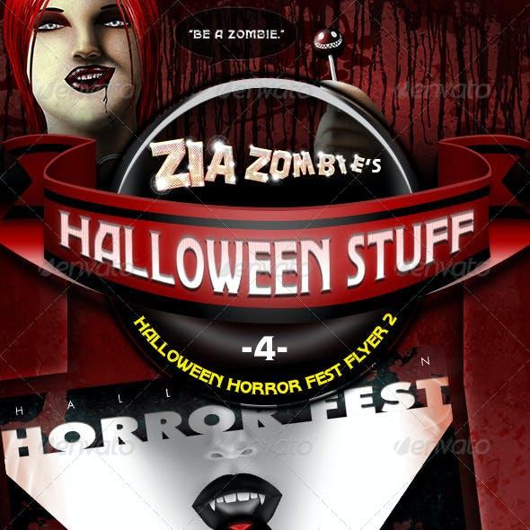 Halloween Horror Fest Flyer 02