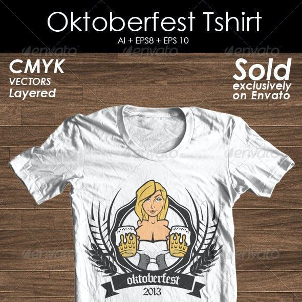 Oktoberfest Tshirt Promote
