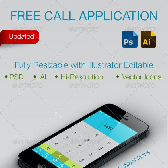 Free Call Application Smartphone