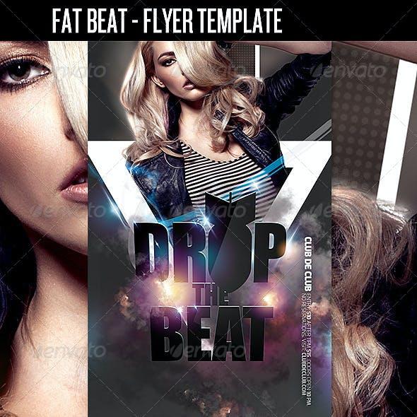 Fat Beat Club Flyer