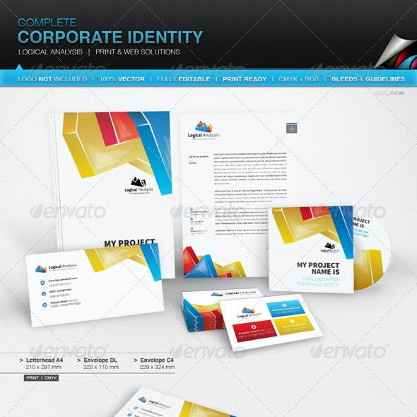 Corporate Identity - Logical Analysis